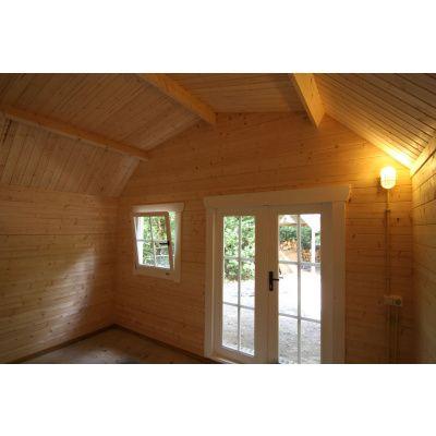 Bild 18 von Azalp Blockhaus Cornwall 450x300 cm, 45 mm