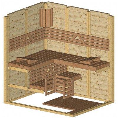 Afbeelding 44 van Azalp Massieve sauna Genio 150x190 cm, 45 mm