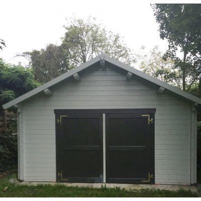 Afbeelding 20 van Azalp Garage Keutenberg 380x536 cm, in 60 mm