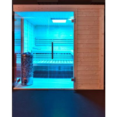 Afbeelding 17 van Azalp Sauna Luja 240x240 cm, 45 mm