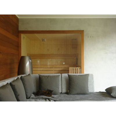 Afbeelding 24 van Azalp Lumen elementsauna 152x152 cm, elzen