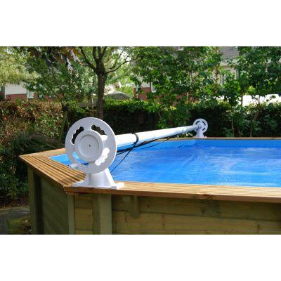 Afbeelding 15 van Ubbink zomerzeil voor Azura 410 cm (6-hoekig) rond zwembad