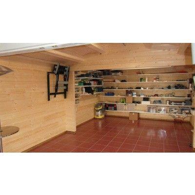 Afbeelding 4 van Azalp Garage Jeffrey 500x800 cm, 60 mm