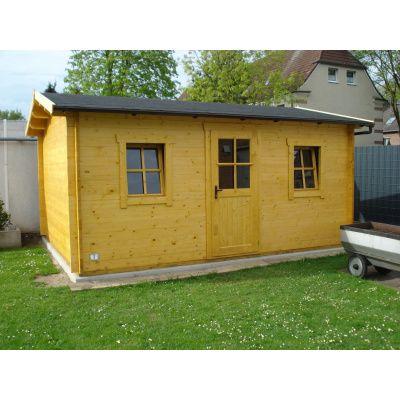 Bild 8 von Azalp Blockhaus Mona 550x550 cm, 45 mm