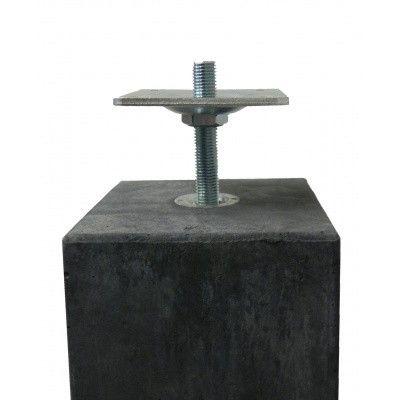 Afbeelding 4 van Azalp Verstelbare Betonpoer 195 x 195 mm*