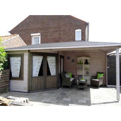 Bild 7 von Interflex Blockhaus 3055 Z, Seitendach 500 cm