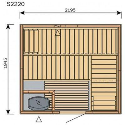 Afbeelding 8 van Harvia Sauna Variant Line S2220