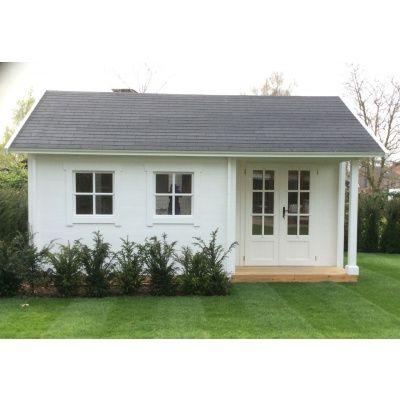Afbeelding 33 van Azalp CLASSIC blokhut Cottage Style Cumberland 520x430 cm, 45 mm