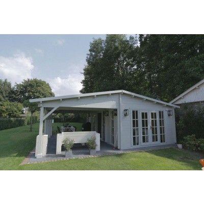 Bild 42 von Azalp Blockhaus Ben 650x750 cm, 60 mm