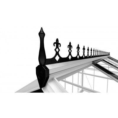 Hoofdafbeelding van Royal Well Victoriaanse Nok Birdlip 44, zwart*