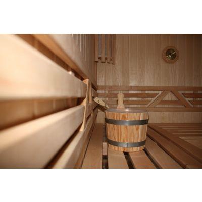 Bild 7 von Azalp Sauna Runda 203x237 cm, Espenholz