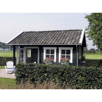 Bild 54 von Azalp Blockhaus Kinross 400x350 cm, 30 mm