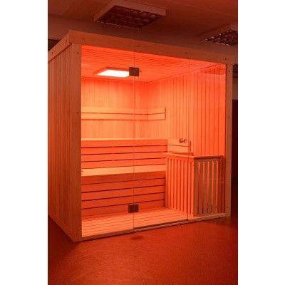 Afbeelding 44 van Azalp Sauna rugleuning Lumen, Elzen