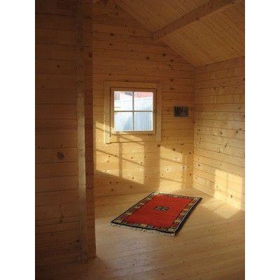 Afbeelding 71 van Azalp CLASSIC blokhut Cottage Style Cumberland 520x430 cm, 45 mm