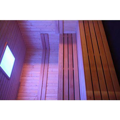 Bild 73 von Azalp Lumen Elementsauna 186x186 cm, Fichte