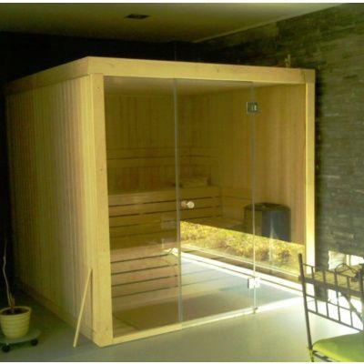 Afbeelding 15 van Azalp Sauna rugleuning Lumen, Elzen