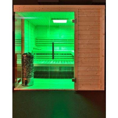 Afbeelding 35 van Azalp Sauna Luja 180x180 cm, 45 mm