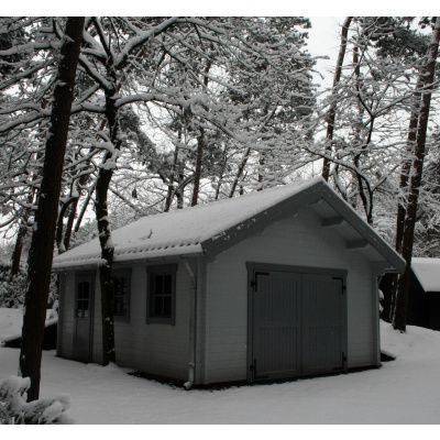 Afbeelding 10 van Azalp Garage Keutenberg 470x570 cm, in 60 mm