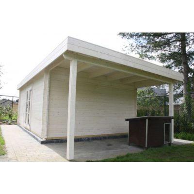 Bild 13 von Azalp Blockhaus Sven 450x450 cm, 30 mm