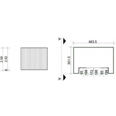 Bild 2 von SmartShed Gartenhaus Nicho 464x302 cm