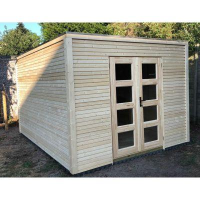 Bild 7 von SmartShed Gartenhaus Ligne 250x250 cm