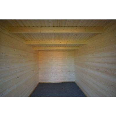 Bild 6 von Azalp Blockhaus Sanne 600x250 cm, 30 mm