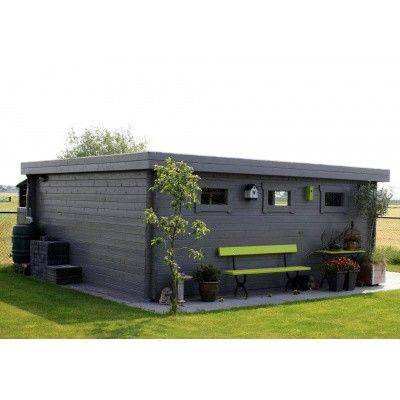 Bild 14 von Azalp Blockhaus Lars 450x450 cm, 30 mm