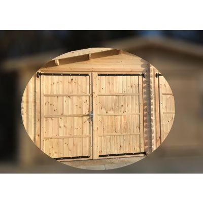 Bild 2 von Graed Double Garage + Carport 950x595 cm, 44 mm