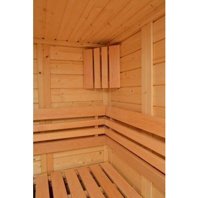 Bild 9 von Azalp Sauna Luja 190x180 cm, 45 mm