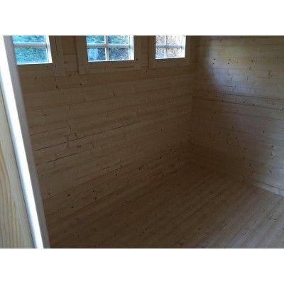 Afbeelding 7 van Azalp Vloer voor blokhut categorie 12*
