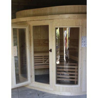 Bild 13 von Azalp Sauna Runda 237x220 cm, Fichte