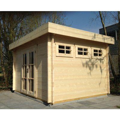 Bild 32 von Azalp Blockhaus Ingmar 350x350 cm, 30 mm