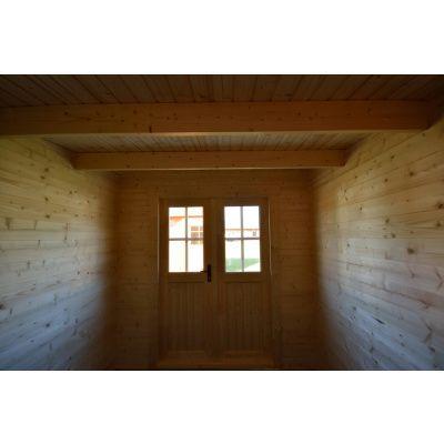 Bild 7 von Azalp Blockhaus Sanne 600x250 cm, 30 mm