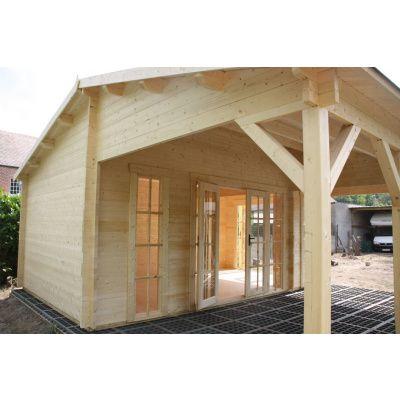 Bild 20 von Azalp Blockhaus Ben 650x750 cm, 45 mm