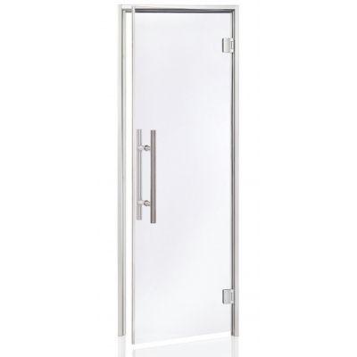 Hoofdafbeelding van Hot Orange Stoombad deur Au Lux 80x200 cm, blank