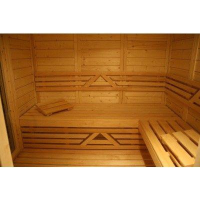 Afbeelding 33 van Azalp Saunabank recht, Elzen breedte 40 cm