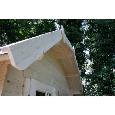 Bild 6 von Azalp Blockhaus Kent 250x250 cm, 30 mm