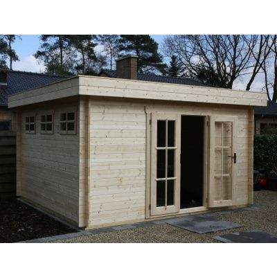 Bild 62 von Azalp Blockhaus Ingmar 300x300 cm, 45 mm