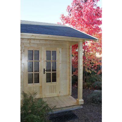 Afbeelding 56 van Azalp CLASSIC blokhut Cottage Style Cumberland 520x430 cm, 45 mm