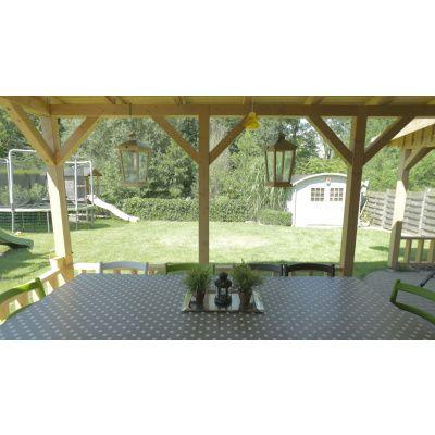 Afbeelding 25 van Azalp Houten veranda 350x250 cm