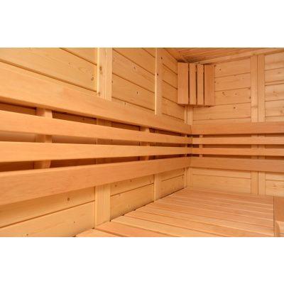 Afbeelding 8 van Azalp Sauna Luja 230x230 cm, 45 mm