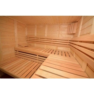 Afbeelding 30 van Azalp Sauna Luja 220x210 cm, 45 mm