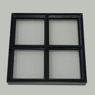 Hoofdafbeelding van Azalp Stalen raam vast, 400x400 mm