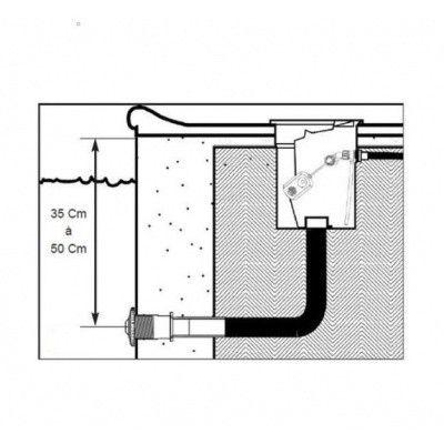 Afbeelding 3 van Hayward automatische mechanische niveauregelaar