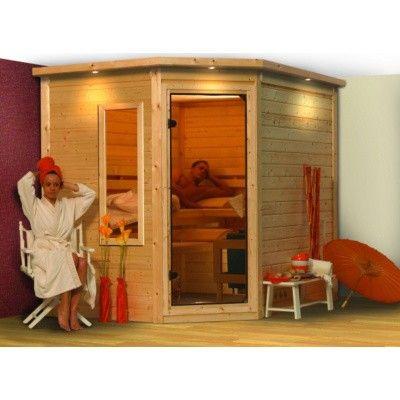 Afbeelding 5 van Karibu Infraroodsauna Tanami set met Philips Vitea