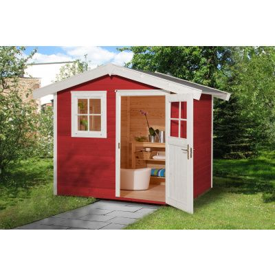 Hauptbild von Weka Gartenhaus 123 Gr. 1 Schwedisch rot