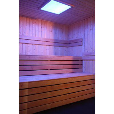 Bild 23 von Azalp Prisma Elementsauna 203x203 cm, Erle