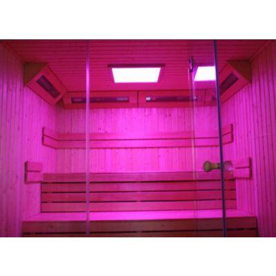 Bild 60 von Azalp Lumen Elementsauna 263x237 cm, Fichte