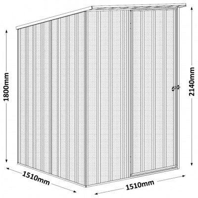 Afbeelding 2 van Endurashed LIFESTYLE Skillion 151x151 cm (Es-S1515)