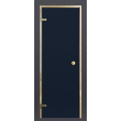 Afbeelding 7 van Ilogreen Saunadeur Trend (Elzen) 199x89 cm, blauwglas